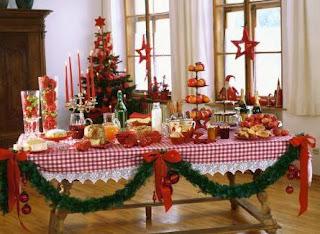 buffet navideño