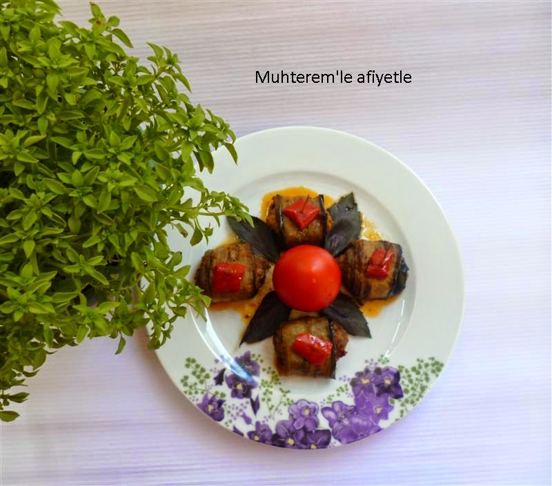 köfteli patlıcan