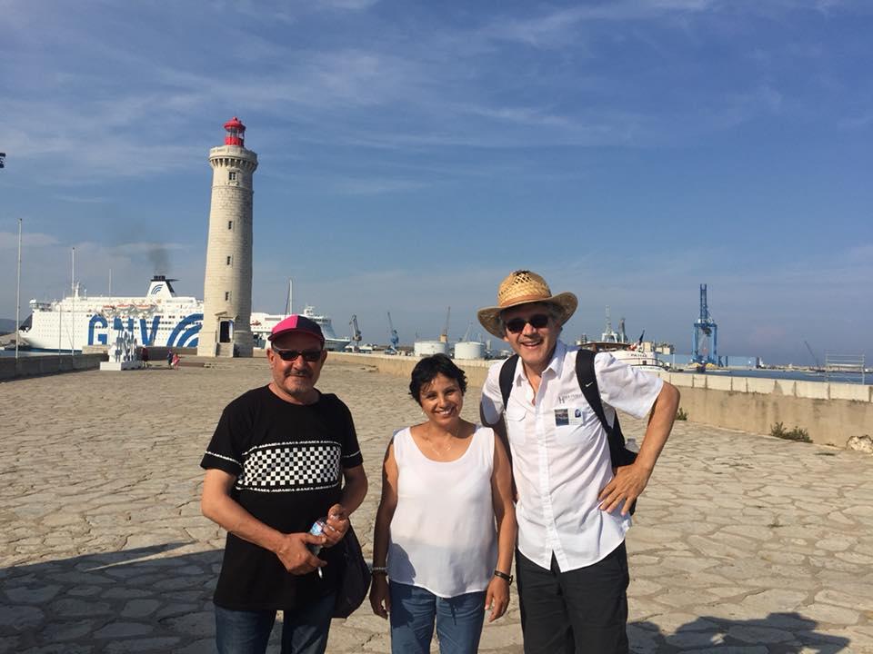 Festival Voix-Vives Sète – Juillet 2018 - Avec Bouzid Herzallah, Monia Boulila et Patricio Sanchez