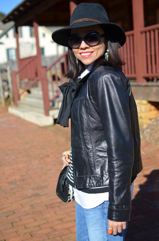 BLACK YSL 2013 STYLE HAT