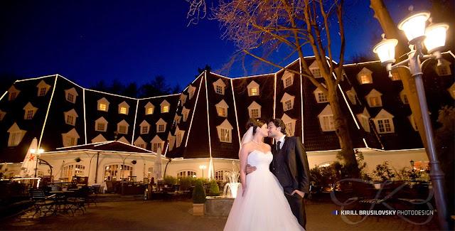 Hochzeitsportraits am Waldhaus Reinbek