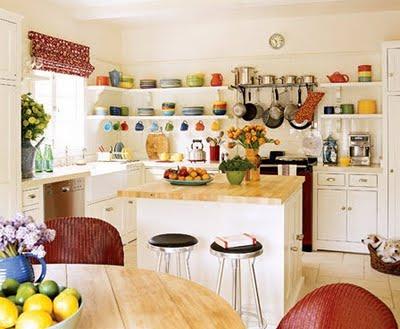 Decoraci n de interiores cocinas peque as para apartamentos - Cocinas en forma de ele ...
