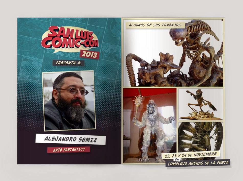 SAN LUIS Comic-con 2013