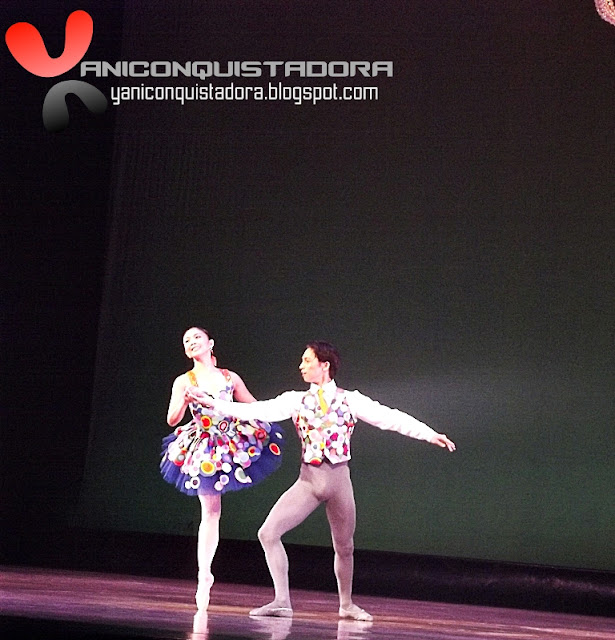 "Candice Adea and Jean Marc Cordero in ""4C&J: Rossini Grand Pas de Deux"" by Augustus Damian III"