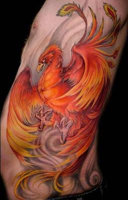 Dicas, imagens e fotos de Tatuagens de Fênix