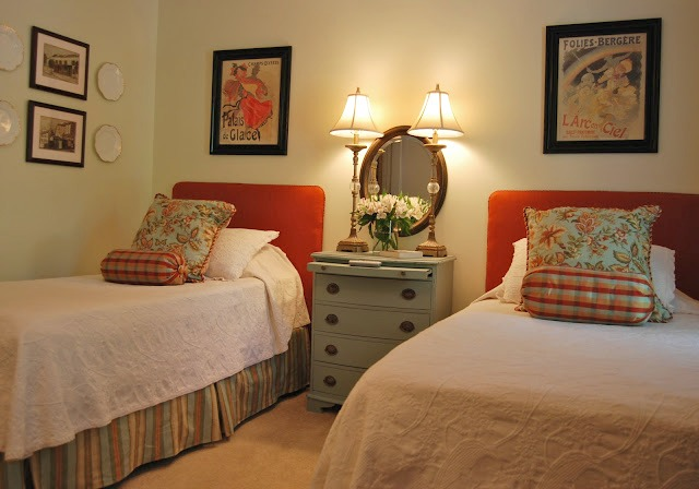 Imparting grace guest room re do if you give a blogger a for Guest bedroom furniture