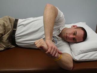 Blue Bell Physical Therapy: Blue Bell, PA - Sleeper Stretch