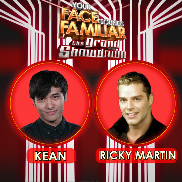 Kean Cipriano moves as Ricky Martin on 'Your Face Sounds Familar'