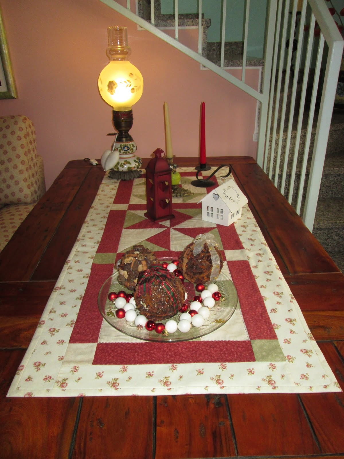 Carmen country colorare creare cucire cucito natalizio - Runner per tavolo ...