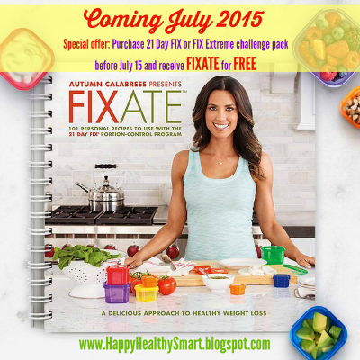 Fixate will teach you how to make healthy, delicious meals that fit into your busy lifestyle. And every recipe includes container equivalents to use with 21 Day Fix, as well as nutritional information you can use with any Beachbody fitness program.