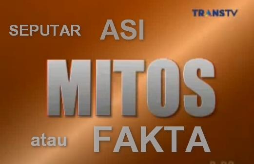 Mitos atau Fakta dr. oz Indonesia Seputar ASI