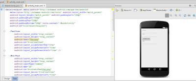 TIps Tutorial membuat android di studio mercancang aplikasi sederhana sangat mudah