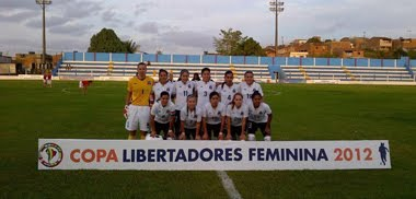 COLO COLO FEMENINO CAMPEONAS DE LA LIBERTADORES FEMENINA 2012
