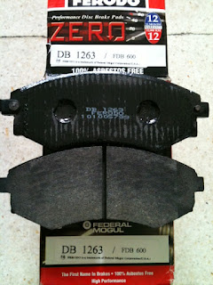 Kampas Rem Nissan Serena C23 merk Ferodo