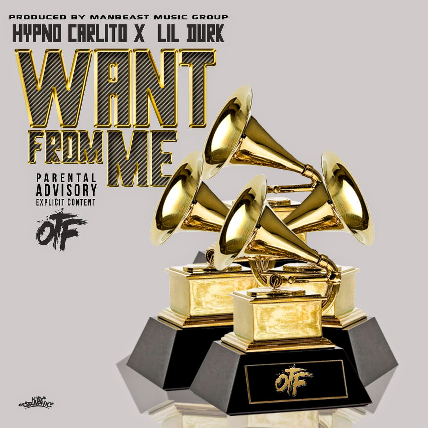 Hypno Carlito - Want From Me (feat. Lil Durk) - Single Cover