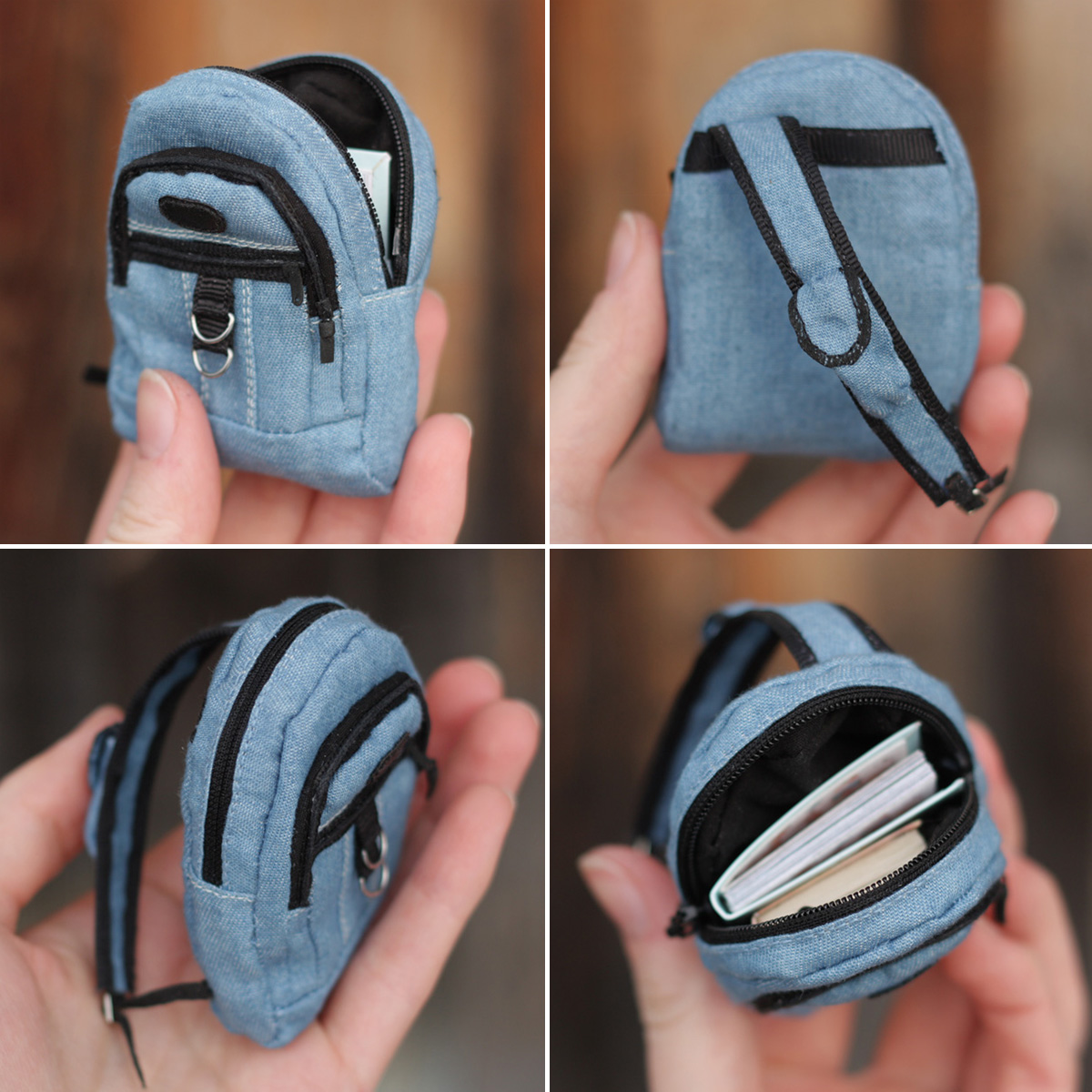 Miniature Backpack for Doll