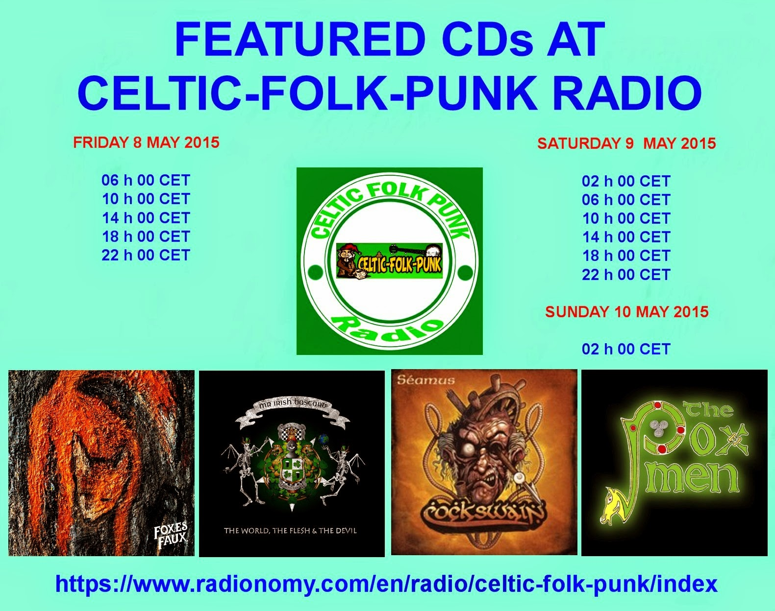 FEATURED ALBUMS AT CELTIC-FOLK-PUNK RADIO (8-10 MAY 2015 ...