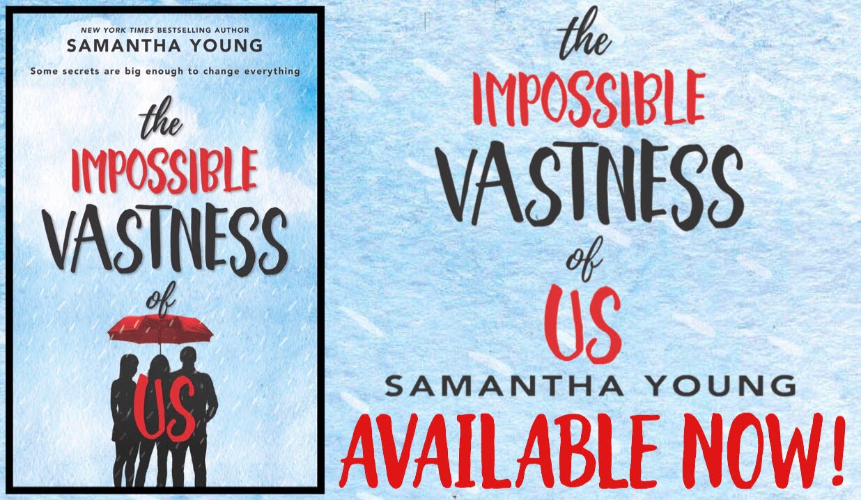 The Impossible Vastness of Us Release Day Launch