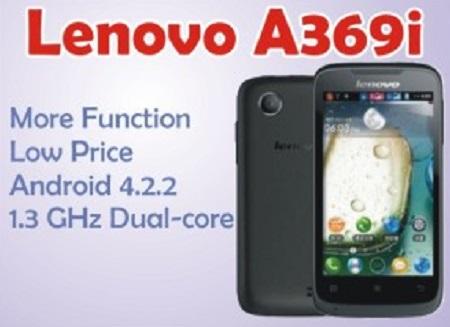 Harga Hp Lenovo A369i Terbaru dan Spesifikasi
