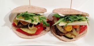 Roasted Vegetable Sandwich Recipe