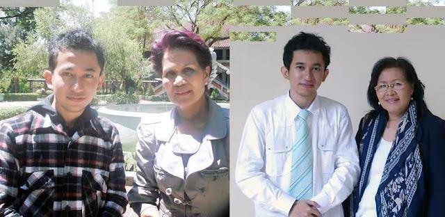 w/ Prof. Miranda S. Goeltom, Ph.D (Guru Besar FEUI dan Deputi Senior Gubernur BI) & Prof. Dr. Ine Minara S. Ruky (Guru Besar FEUI dan Pembimbing Skripsi)