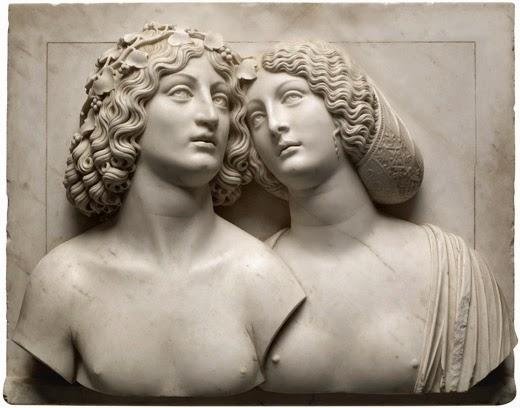 Tullio Lombardo, Bacchus et Ariane, marbre, vers 1505, KHM, Vienne