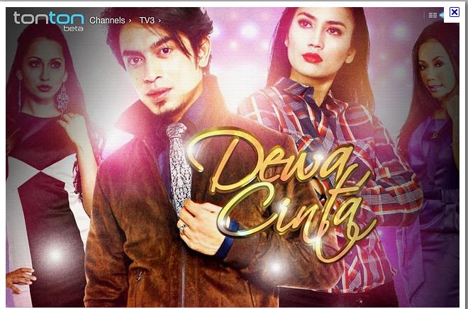 Slot Akasia Dewa Cinta Di TV3