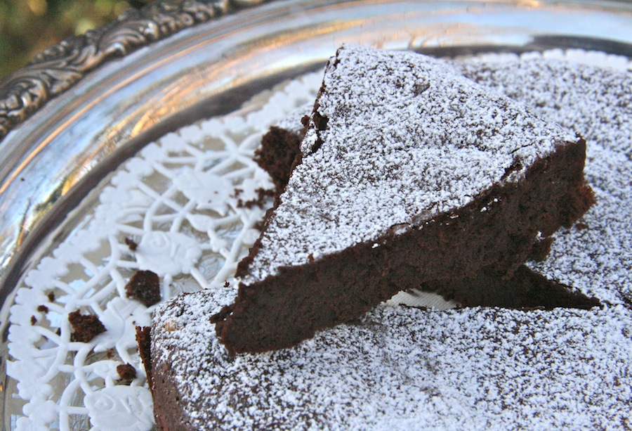 The Dogs Eat the Crumbs: Almost Fudge Gateau