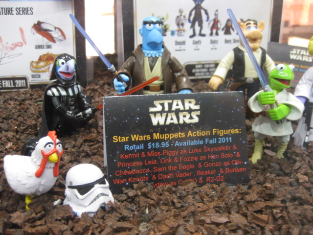 Star Wars Figures 2011. Star Wars Muppets Action