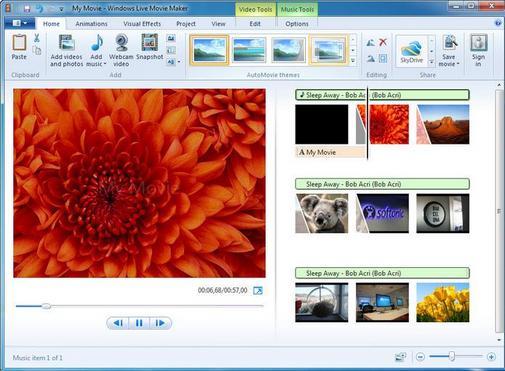 Free Download Software Windows Live Movie Maker