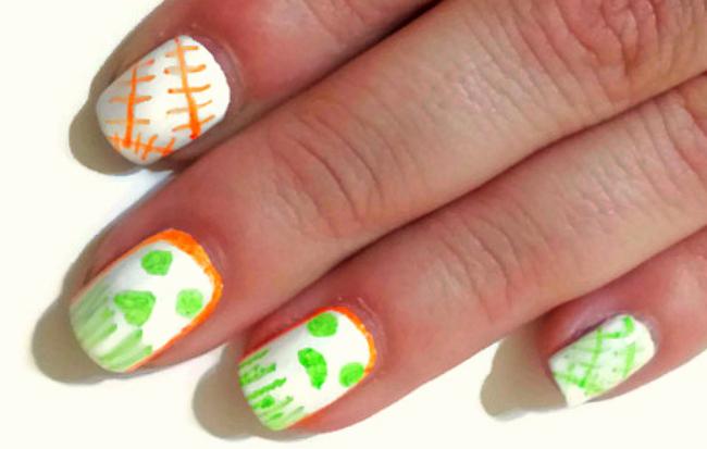 Sharpie Halloween Manicure
