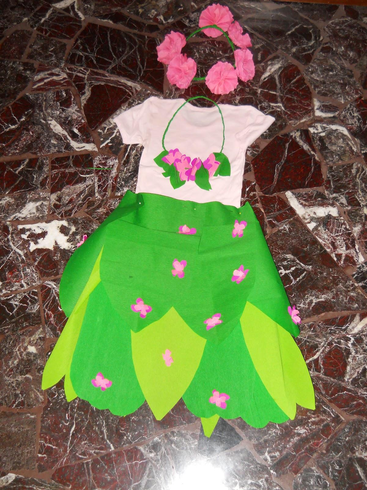 Bricolage Costume Da Fiore Bricolage Ricette Blog