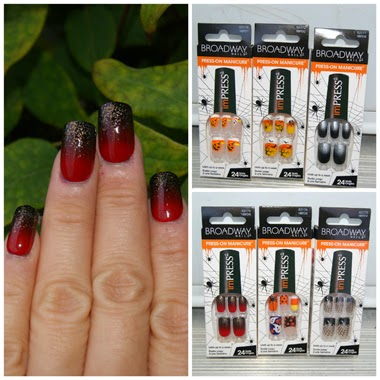 Halloween Edition imPress Press-on Manicure by Broadway Nails