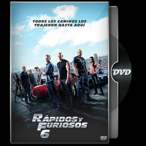 rapido y furioso 6 dvd portada
