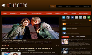 eTheater Blogger Template