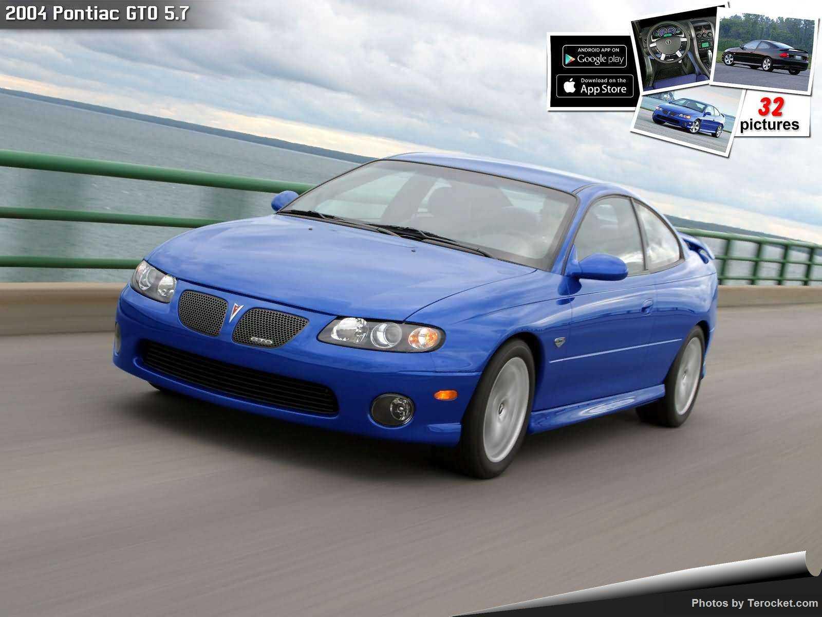 Hình ảnh xe ô tô Pontiac GTO 5.7 2004 & nội ngoại thất