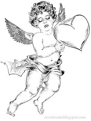 Ангелы. Купидон и Амур. Графические