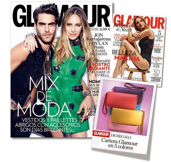 Regalos revistas Noviembre 2014: Glamour