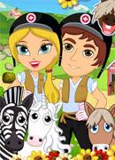 Лечим лошадок - Онлайн игра для девочек