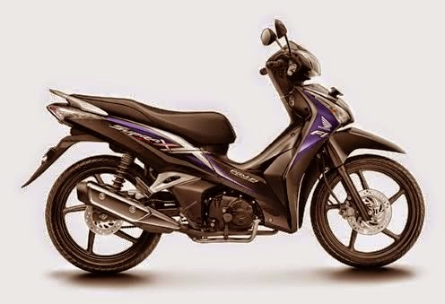 New Supra X 125 Helm-In PGM-FI Magna Violet