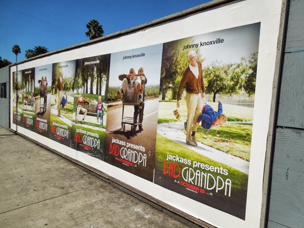 Jackass Bad Grandpa movie posters