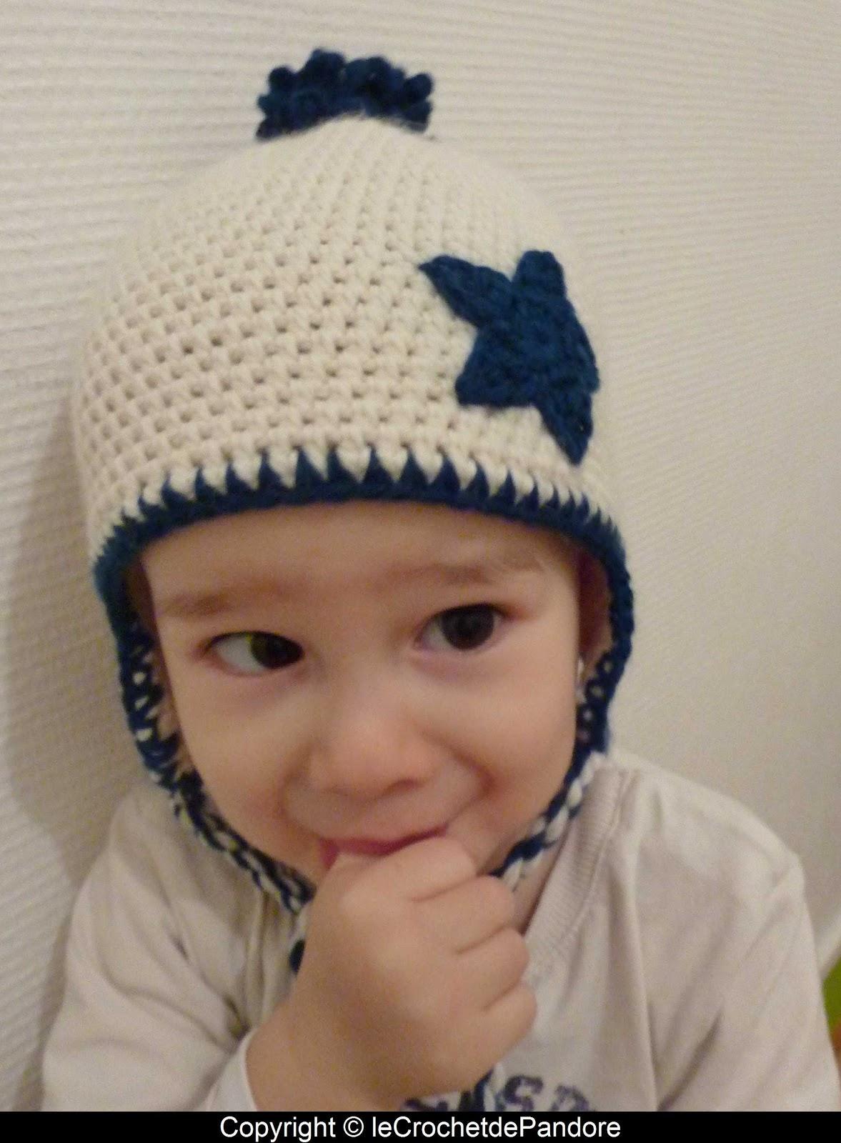 Extrêmement le Crochet de Pandore: Bonnet petit garçon UW12