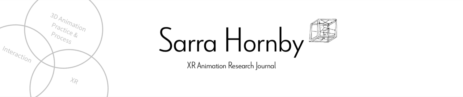 Sarra Hornby XR Animation Research Journal