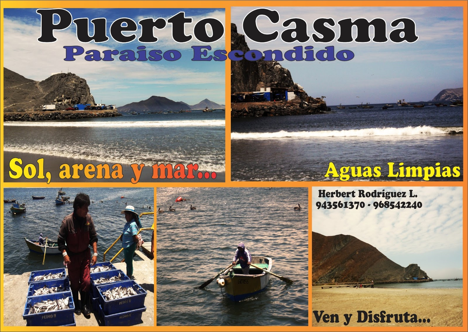 Fotos del Puerto de Casma