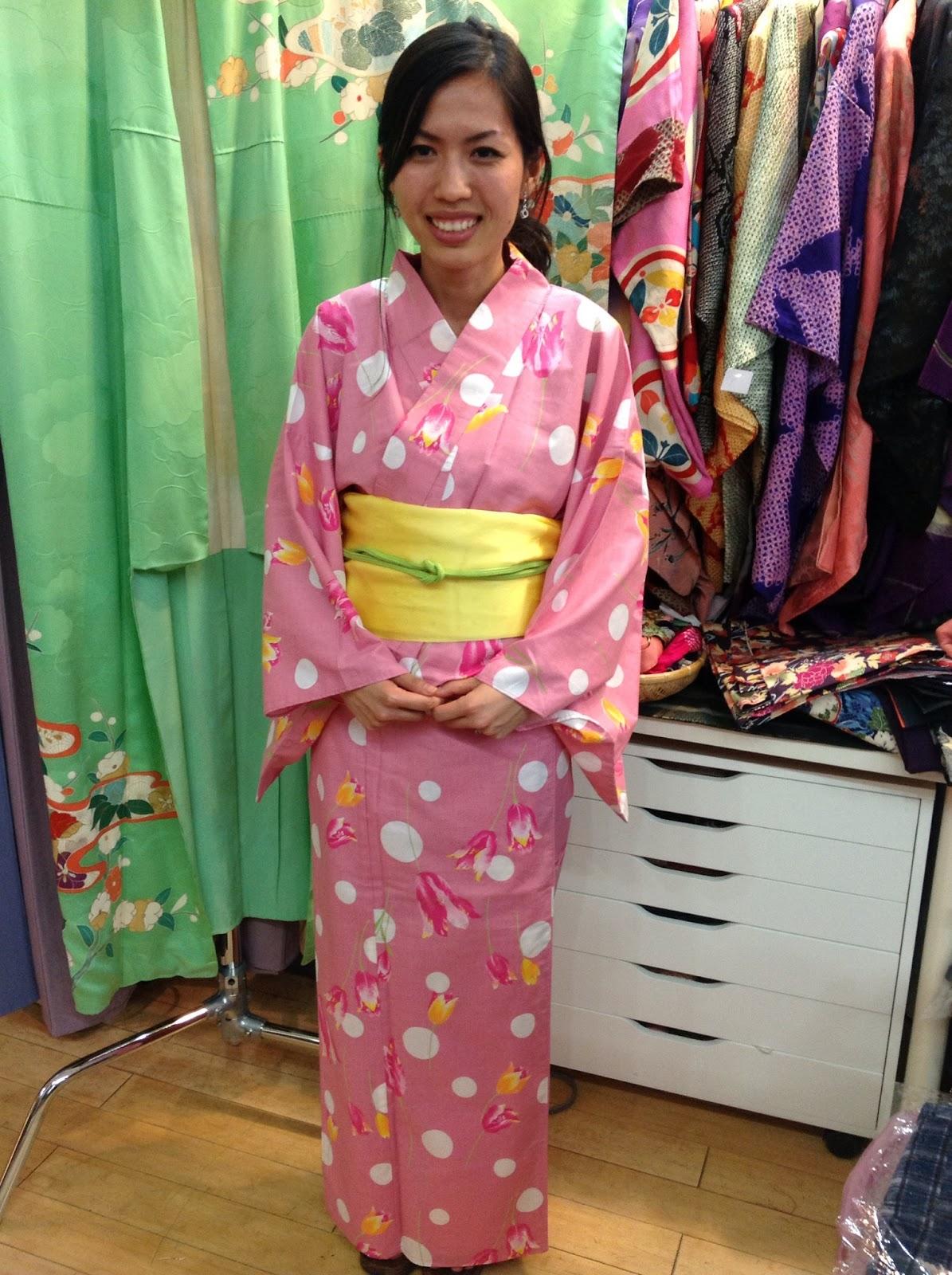 Traditional Kimono from Kimono House NY