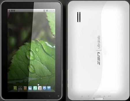 Specs and Price of 9-inch ICS tablet in India