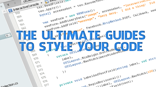 How To Style Code