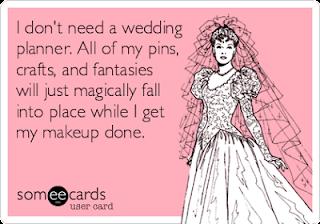 wedding planner ecard