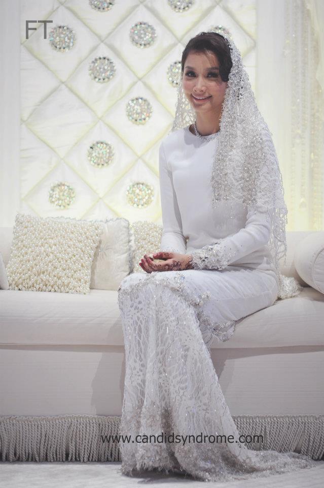 Wed Preps : Design Baju Akad Nikah Nina