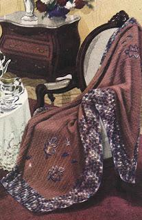 Vintage 1939 Crochet Afghan Pattern